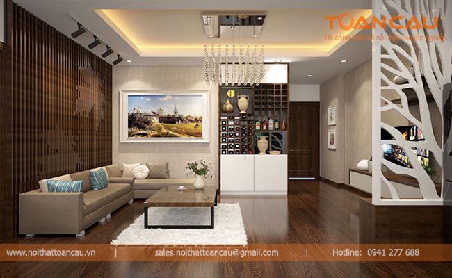 [Báo Giá] 150+Mẫu thiết kế trọn gói nội thất phòng khách căn hộ chung cư đẹp & hiện đại