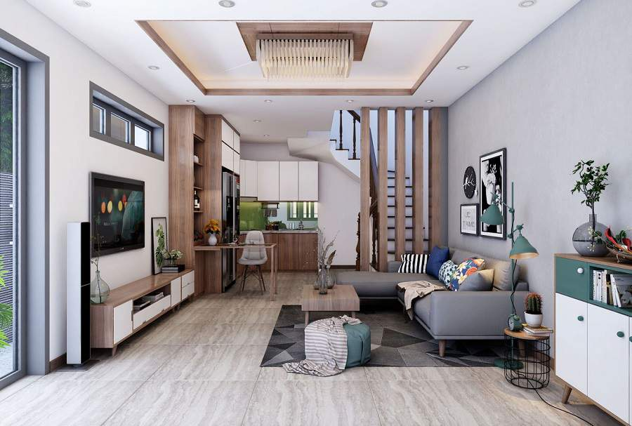 20 Mẫu thiết kế nội thất nhà phố 3 tầng tại Hải Dương