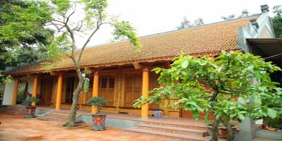 Nhà gỗ xoan ta 5 gian – Nhà gỗ cổ truyền Việt Nam