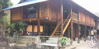 Ngôi nhà sàn gỗ hai tầng - Niềm ao ước của bao người