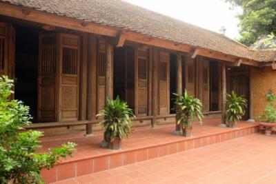 9 Mẫu nhà gỗ 5 gian truyền thống đặc trưng của đồng bằng Bắc Bộ