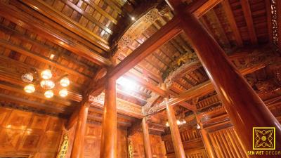 Nhà gỗ xoan 5 gian – nơi lưu giữ những giá trị truyền thống quý báu