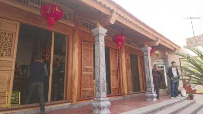 Nhà thờ họ gỗ Xoan 3 gian - Hưng Yên