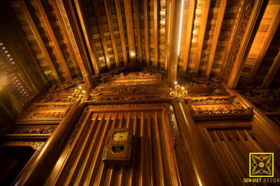 Nhà gỗ lim 5 gian – nơi lưu giữ nét đẹp truyền thống Việt