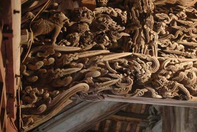 Đình Hoàng Xá và những chạm khắc hoạt cảnh dân gian đặc sắc