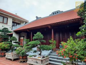 Thiết kế và thi công trọn gói nhà gỗ gõ 3 gian tại Hà Nam